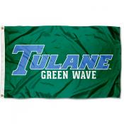 Tulane University Tulane Blue Flag