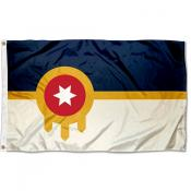 Tulsa City 3x5 Foot Flag
