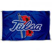 Tulsa Hurricanes Large 3x5 Foot Flag