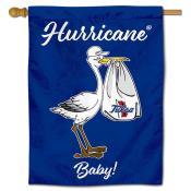 Tulsa Hurricanes New Baby Banner