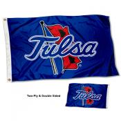 Tulsa Hurricanes Two Sided 3x5 Foot Flag