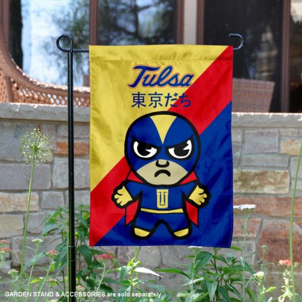 Tulsa Hurricanes Yuru Chara Tokyo Dachi Garden Flag