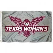 TWU Pioneers Banner Flag