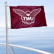 TWU Pioneers Boat Nautical Flag