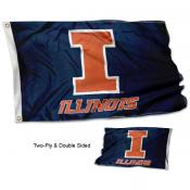 U of I Fighting Illini Stadium Flag