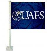 UA Fort Smith Lions Car Flag
