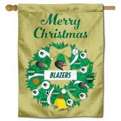 UAB Blazers Christmas Holiday House Flag