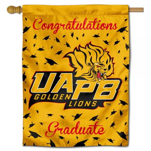 UAPB Golden Lions Graduation Banner