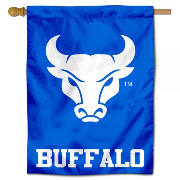 UB Bulls Blue House Flag