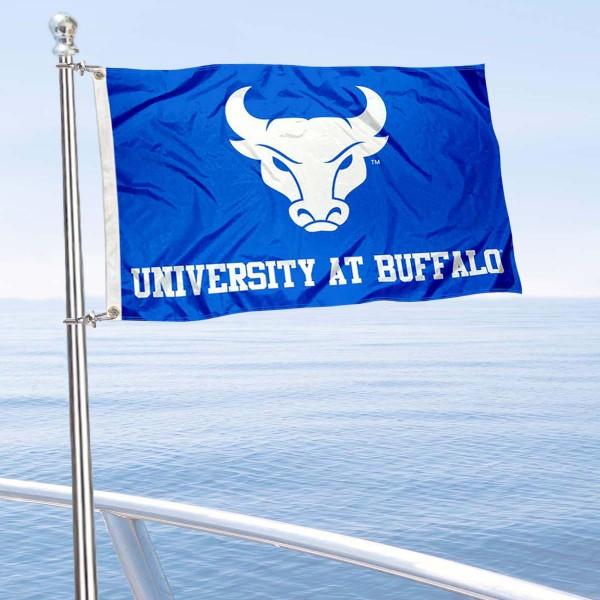 UB Bulls Boat Nautical Flag