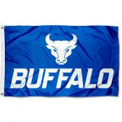 UB Bulls Wordmark Logo 3x5 Foot Flag
