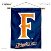 UC Fullerton Titans Banner with Pole