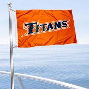UC Fullerton Titans Boat Nautical Flag