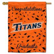 UC Fullerton Titans Graduation Banner