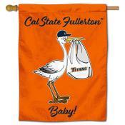 UC Fullerton Titans New Baby Banner