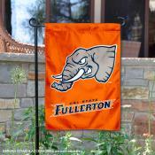 UC Fullerton Titans Orange Mascot Garden Flag
