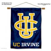 UC Irvine Banner with Pole