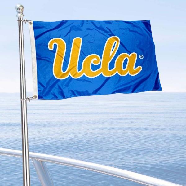UC Los Angeles Boat Nautical Flag