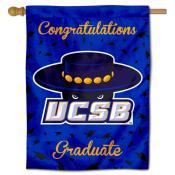 UC Santa Barbara Gauchos Graduation Banner