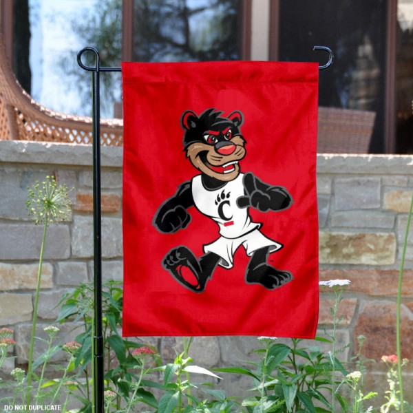 UC The Bearcat Mascot Garden Flag