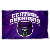 UCA Bears 3x5 Foot Pole Flag