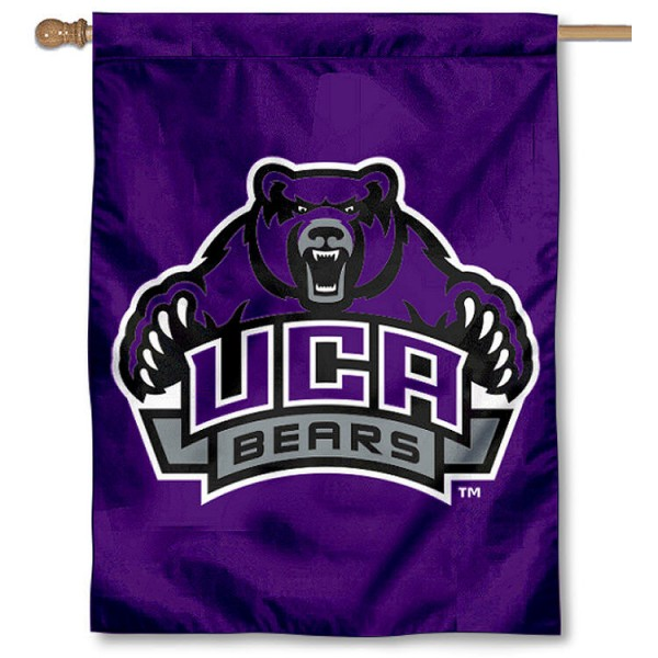 UCA Bears House Flag