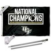 UCF Knights Flag and Bracket Flagpole Kit