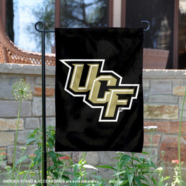 UCF Knights Stacked UCF Logo Garden Banner