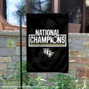 UCF Knights Undefeated Perfect Season National Champs Garden Banner