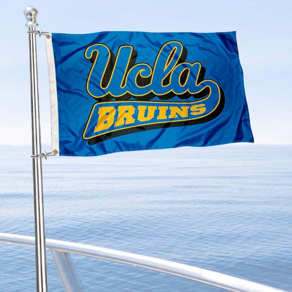 UCLA Boat Flag