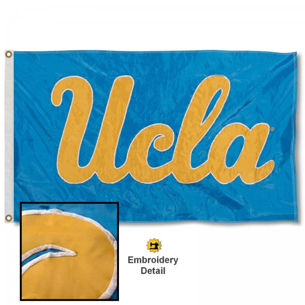 UCLA Bruins Appliqued Nylon Flag
