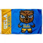 UCLA Bruins Tokyodachi Cartoon Mascot Flag