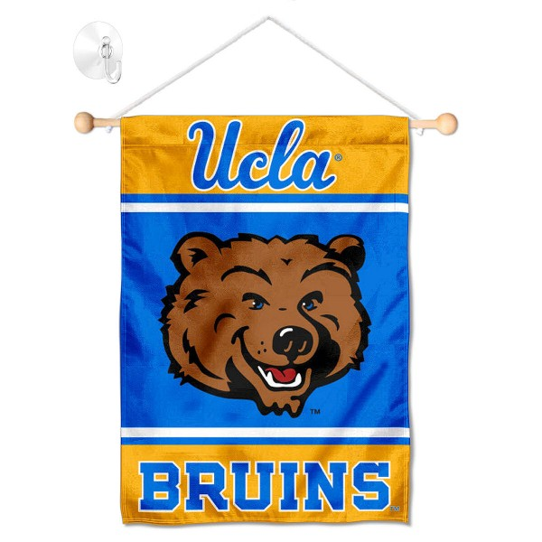 UCLA Bruins Window Hanging Banner with Suction Cup