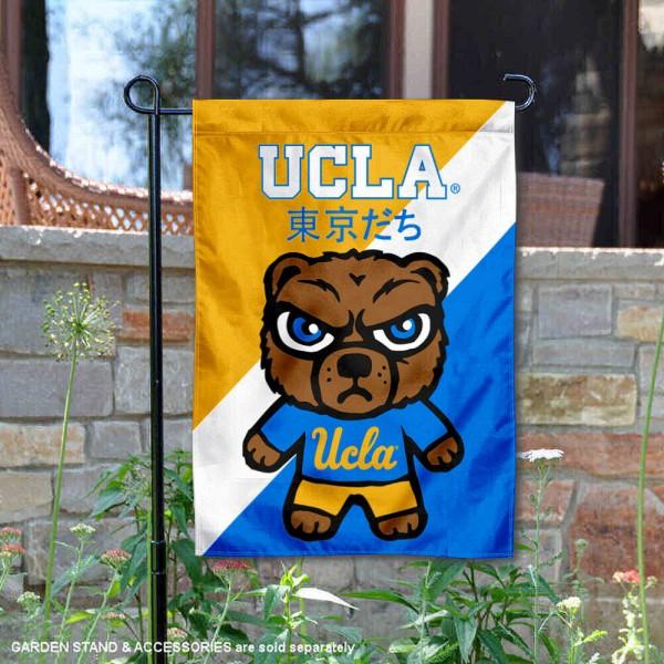 UCLA Bruins Yuru Chara Tokyo Dachi Garden Flag