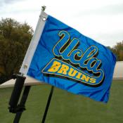 UCLA Golf Cart Flag