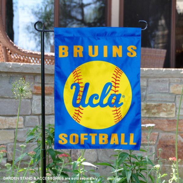 UCLA Softball Garden Flag