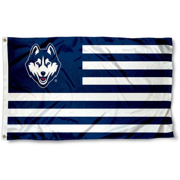UConn Huskies Alumni Nation Flag