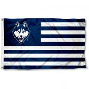 UConn Huskies Alumni Nation Flag