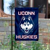UCONN Huskies New Husky Logo Garden Flag