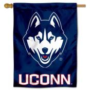 UCONN Huskies Polyester House Flag