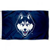 UCONN Primary Logo Flag