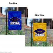 UCSB Gauchos Dual Logo Garden Banner