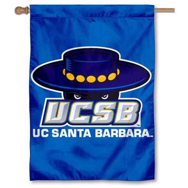 UCSB Gauchos House Flag