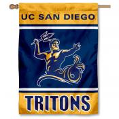 UCSD Tritons House Flag