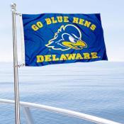 UD Blue Hens Boat Nautical Flag