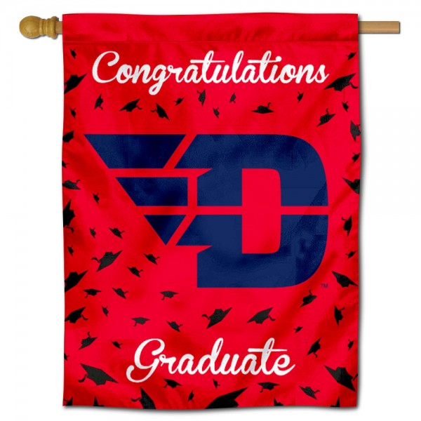 UD Flyers Graduation Banner