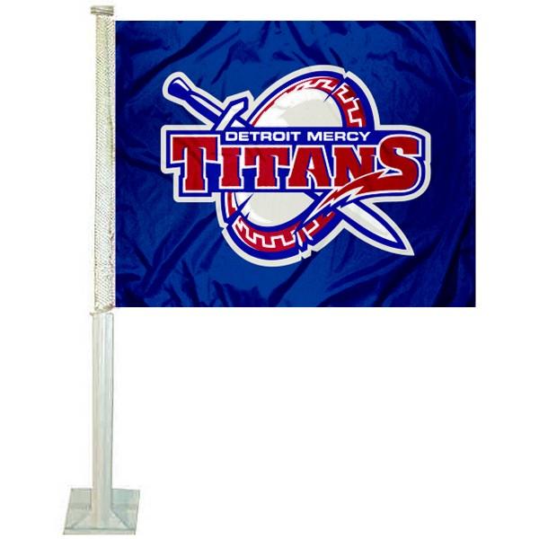 UDM Titans Car Flag