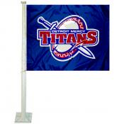 UDM Titans Car Flag