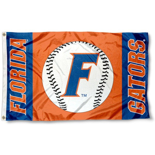 UF Gators Baseball Flag