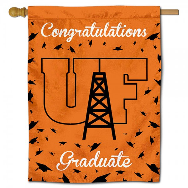 UF Oilers Graduation Banner